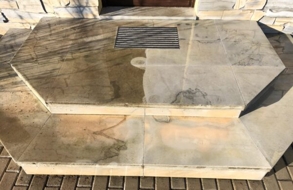 keraamilise plaadi puhastus sissekäigu puhastus sissepääsu puhastus kivi pesu survepesu marmor graniit