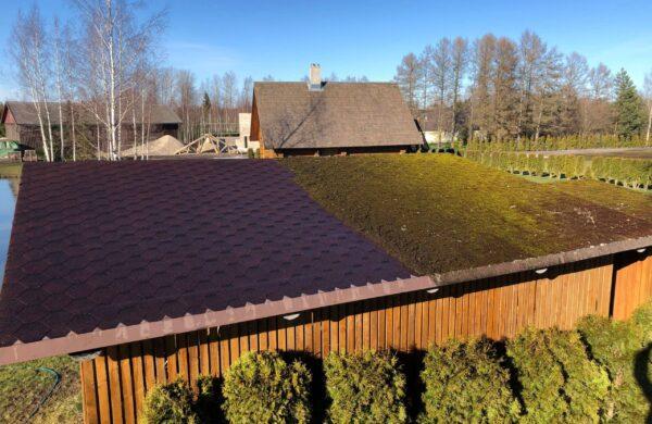 katuse pesu katuste survepesu kärgkatus katus pesu puhtaks sammaldunud puhastus